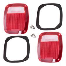 Set Taillights Rear Lenses fit Chevy Ford GMC Pickup Truck Jeep CJ Wrangler J10