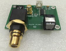 CDROM drive digital signal output shaping buffer board SPDIF fiber coaxial outpu