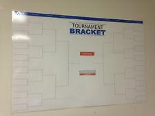 Reusable Dry Erase 32-Team Tournament Bracket Poster 24x36