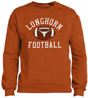 Texas Longhorns Mens UT Orange Sable Screened Crew Sweatshirt