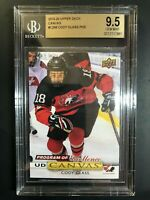 2019-20 Upper Deck Cody Glass Program Of Excellence Canvas Rookie BGS 9.5