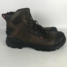 Red Wing CRV 6 Inch Leather EH Safety Toe Work Boots Men's Size 14 Brown 4409