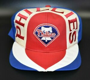 Philadelphia Phillies Twins Enterprise Swirl Vintage 90s Snapback Cap Hat - NWT