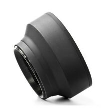 H1 52mm 3-Stage Collapsible Rubber Lens Hood For 50/1.8 Nikon 18-55 50/1.8D I3K2