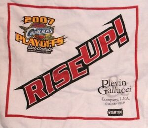 NBA CLEVELAND CAVS BASKETBALL 2007 PLAYOFF RALLY TOWEL ARENA PROMO PLEV VARIANT