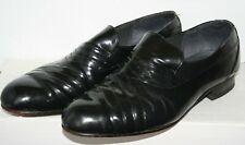Ambassador Lancer Men's Black Glossy Leather Opera Pumps Loafers Shoes Size 9 UK