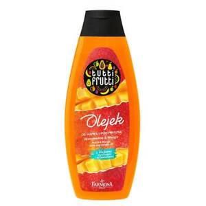 Tutti Frutti Bath Shower Gel Nourishing Regenerating Peach Mango 425ml