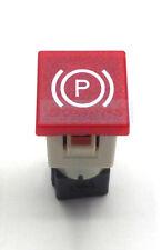COBO RED HAND BRAKE LIGHT CAR DASH BOARD PANEL WARNING LIGHT LAMP 12V 24V 19MM