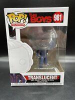 Translucent #981 – The Boys Funko Pop! TV Vinyl Figure [Clear] Brand New Mint