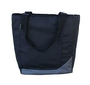 Insulated Grocery Bag Backpack Shopping Tote w/Multiple Zipper Pockets Backpack