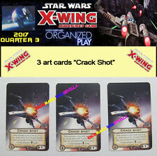 STAR WARS X-WING 2017 QUARTER 3 OP KIT - 3 Crack Shot