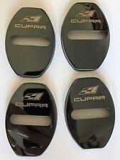 Seat Cupra Door Lock Cover Black 4PCS For Cupra Leon Altea Belt R Racing FR