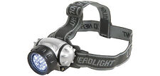 Led headlamp head torch beam angle d'ajustement 4 modes IP44 rated sangle réglable