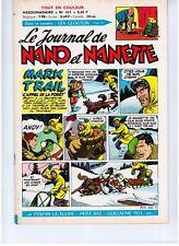 """REVUE BD """"NANO ET NANETTE no 421"""" (1965) MARIJAC / LERALLIC..."""