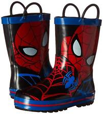 Trimfoot Toddler's Marvel Ultimate Spiderman Rain Boot (Red/Blue/Black)