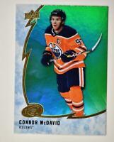 2019-20 ICE Green Parallel #48 Connor McDavid - Edmonton Oilers