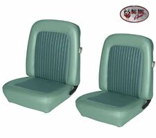 1968 Mustang Front Bucket Seat Upholstery- Turquoise Made by TMI - IN STOCK!!