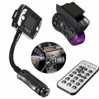 Bluetooth Auto KFZ FM Transmitter Radio USB SD MP3 Musik Player Freisprechanlage