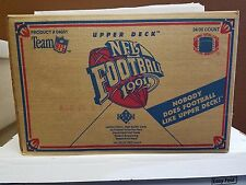 1991 Upper Deck Football Factory-Sealed Case (24 Boxes) - FAVRE ROOKIE CARD!