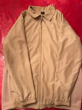 0eb3c7ffc796 Men s Nike Air Jordan Logo Beige Jacket Size L 20th Anniversary 1985 2005