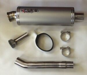 Stainless OP1 Legal Exhaust & Link Pipe fits GSXR1000 K1 K2 K3 K4 K5 K6