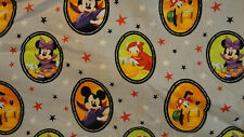 Halloween Mickey and Friends Fabric By The Yard