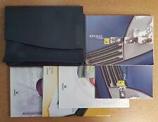 RENAULT CLIO OWNERS MANUAL HANDBOOK WALLET 2003-2006 PACK D-903