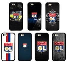 LYONNAIS OL Design Pattern Rubber Phone Case Cover For iPhone / Samsung