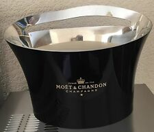 MOET CHANDON CHAMPAGNE DOUBLE MAGNUM BUCKET BLACK PEWTER JEAN MARC GADY