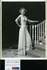 Barbara Stanwyck Psa Dna Coa Signed 8x10 Photo Autograph