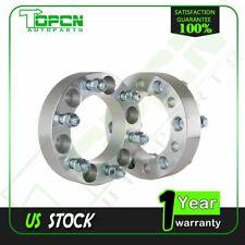 "2Pc 1.5"" 38mm 6x5.5 14x1.5 Studs Wheel Spacers For 2000-2014 GMC Yukon 2013"