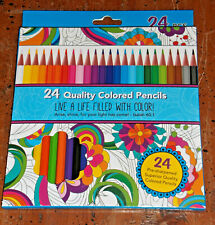 New listing Divinity Colored Pencils, Box of 24. Pre-Sharpened, 3.0mm Soft Cores, New