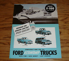 1953 Ford Truck F-100 Sales Brochure 53 Pickup Panel