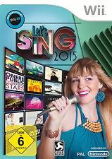 Let's Sing 2015 (Nintendo Wii, DVD-Box)