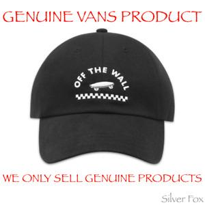 VANS VOLVATELLA BLACK STRAPBACK CAP HAT BRAND NEW WITH TAGS
