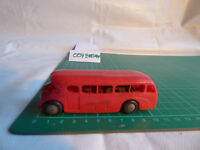 VINTAGE TRI-ANG MINIC PUSH & GO No.M 314 RED BUS PASSENGER COACH FRICTION TOY