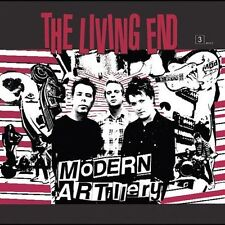 Modern Artillery by The Living End (Punk) (CD, Mar-2004, Reprise) NIP Cut-out