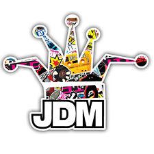 Jdm Crown Voiture stcker, Autocollant Bombardé Autocollant Bombardement Design 100 mm large