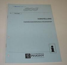 Werkstatthandbuch Peugeot 806 Vorstellung Fahrzeugsicherung Steuergerät