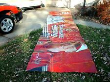 NEW GIANT OUTDOOR POSTER 4ft x 20ft Dale Earnhardt Jr Budweiser Fence Cover