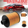 Engine Oil Filter + O-Ring Kit For Vauxhall Insignia 2.0 CDTi 2008-2016