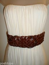 Sky Clothing Brand M Dress Ivory Off White Leather Belt Party Club Sexy Fall