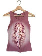 Dolce & Gabbana Tank Top Shirt Sleevless Freedom Sexual SZ 40 ITALY