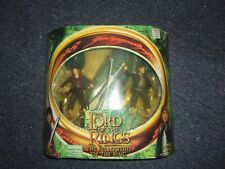 2001 Toy Biz Lord of the Rings LOTR Frodo and Samwise Gamgee Figures NEW