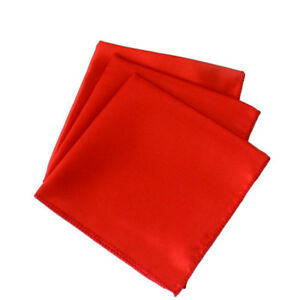 "50pc 20"" X 20"" Square Satin Table Napkin handkerchief Hanky Wedding Party Decor"