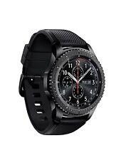Samsung Galaxy Gear S3 Frontier Black Smartwatch SM-R760 Watch Wi-Fi Bluetooth