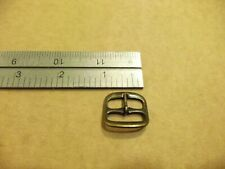 "3/4"" Antique Brass Middle Bar Shoe Buckle Watchband Sandal (Pack Of 10)"