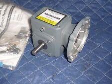 BOSTON GEAR GEARBOX SPEED REDUCER, F710-10-B4-G, 10:1, 42CZ input, NEW