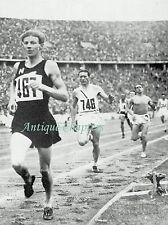 Berlin Olympic Games Jack Lovelock Shigeo Arai Masanori Yusa 1936 Photo Article
