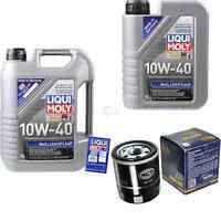 6L Liqui Moly MoS2 Leichtlauföl 10W-40 + SCT-Germany Filterpaket 11254827